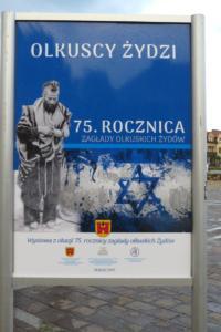 4 Wystawa na Rynku Olkuscy Żydzi 1